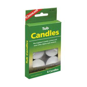 Coghlans Pk6 Tub Candles