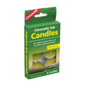 Coghlans Pk6 Citronella Tub Candles