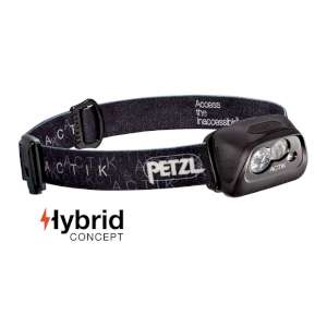 Petzl Actic Headlamp Black