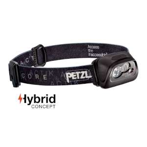 Petzl Actik Core Head Lamp Black