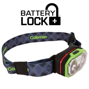 Coleman CXS+ 300R Headlamp Green