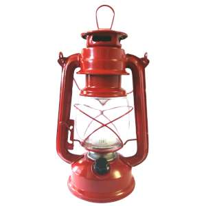 Strider Retro Hurricane Lantern Red