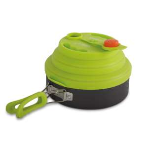 Gelert Fold-Away Kettle 2 Litre Green