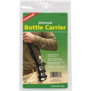 Coghlans Bottle Carrier Black