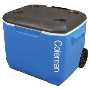 Coleman Tricolour 60Qt Wheeled Cooler