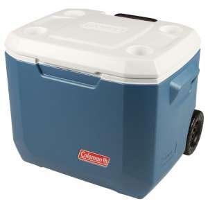 Coleman 50QT Xtreme Wheeled Cooler Blu
