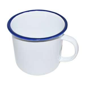 Strider 9cm Enamel Camping Mug White