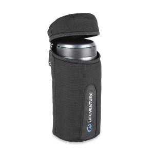 LifeVenture Thermal Mug Jacket Black