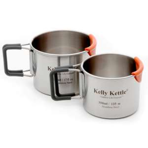 Kelly Kettle 350&500ml Mug Set