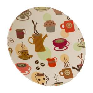 Vango Bamboo 28cm Dinner Plate Coffee