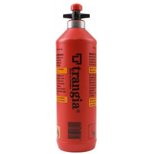 Trangia 0.5Ltr Fuel Bottle Red