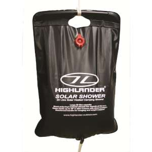 Highlander Solar Shower 20 Litres