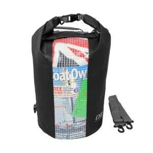 OverBoard 30L Window Dry Tube Black