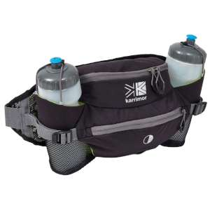 Karrimor Raid 5 Hipbelt Bag Black/Grey