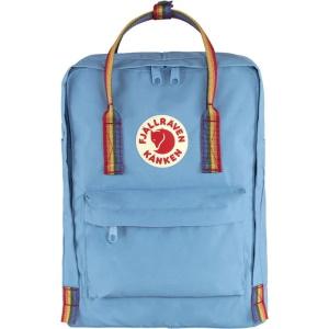 Fjallraven Kanken Rainbow Rucksack Blu