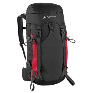 Vaude Triset 25+4 Aeroflex Black/Red