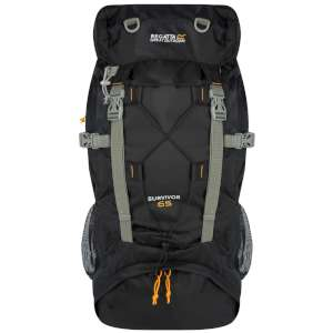 Regatta Survivor 65Ltr Rucksack Black