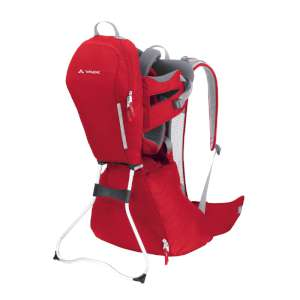 Vaude Walaby Child Carrier Red