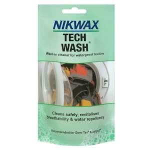 Nikwax Tech Wash Pouch 100ml Clear
