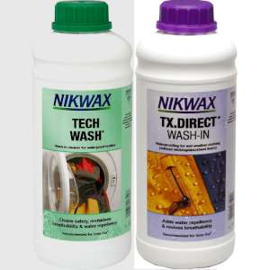 Nikwax Twin Pack Tech Wash/TX Direct 1
