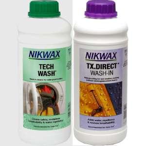 Nikwax Twin Pack Tech Wash/TX Direct 1