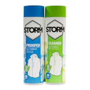 Storm 300ml Twin Pack Clean & Proof Cl