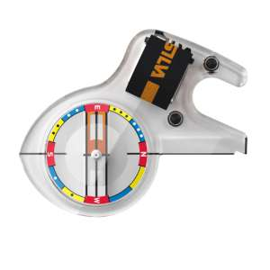 Silva Race S Jet Thumb Compass Red/Blu