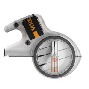 Silva Race 360 Jet Thumb Compass Grey