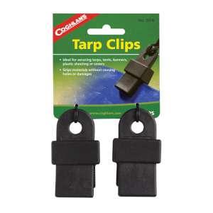 Coghlans Tarp Clips Black