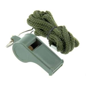 Highlander Referee Whistle Green
