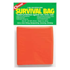 Coghlans Survival Bag Orange