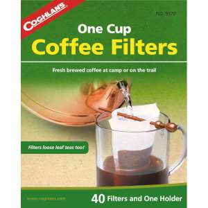 Coghlans Pk40 Coffee Filters + Holder