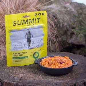Summit To Eat Chicken Fajita with Rice