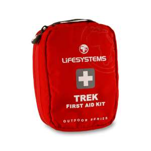 Lifesystems Trek First Aid Kit Red