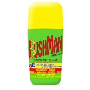 Bushman Insect REpellent Roll On Green