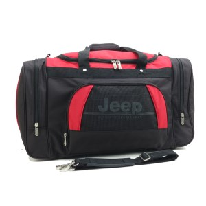 Jeep 24in Holdall Black/Red