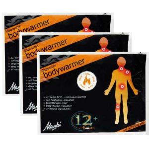 Manbi Pk3 Bodywarmers Pk 3