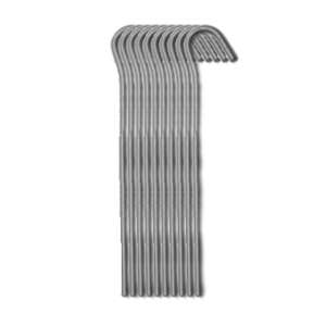 Strider 18cm Wire Pegs - 10 Pack Alloy