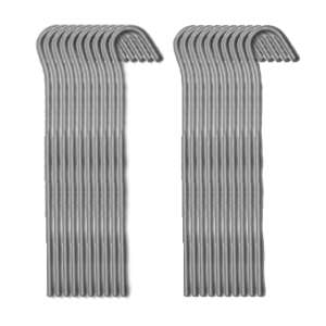 Strider 18cm Steel Pegs - 20 Pack Allo