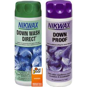 Nikwax Down Wash and Proof 300ml clear