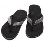 Sinner Braided Flip Flops Black