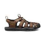 Keen Clearwater CNX Leather Sandal Dar