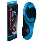 Sorbothane Full Strike Insoles Red