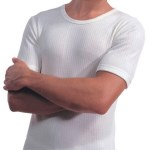 Oswald Bailey Thermal T Shirt White