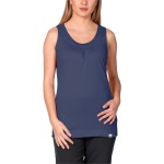 Jack Wolfskin Womans Tank Top Blue Ind