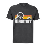 Marmot Coastal SS Tee Charcoal Heathe