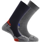 Horizon Coolmax 2Pk Liners Navy Grey