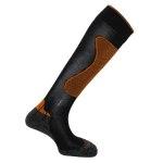 Horizon Expert Ski Socks Black/Orange