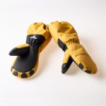 WeeDo Kids Lion Gloves Golden Brown