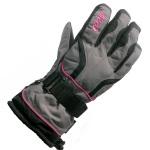Manbi W Val d'Isere Ski Glove Grey/Pin